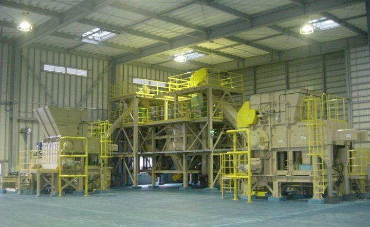 RPF(廃棄物固形燃料)プラント